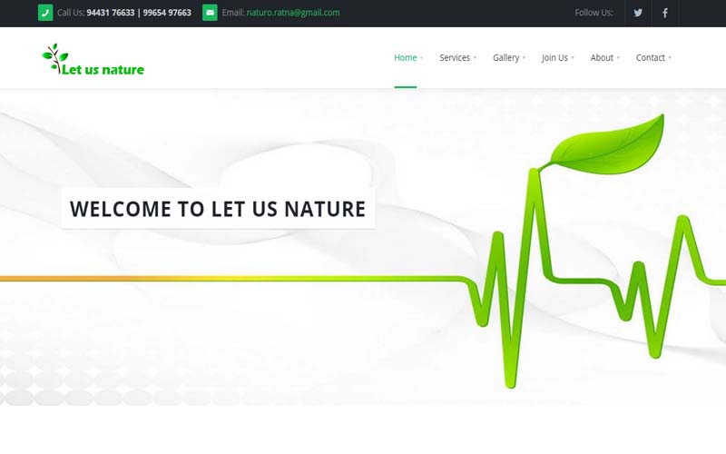 Let Us Nature| Coimbatore | Every Web Works